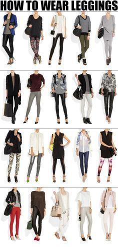 270 How To Wear Leggings.