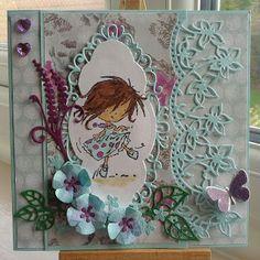Handmade by Barbara Ann Dancing Daisy, Barbara Ann, Marianne Design, Stamp, Dance, Photo And Video, Cards, Handmade, Dancing
