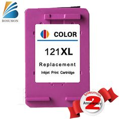 BOSUMON 121 XL ink cartridge compatible for HP Deskjet D2563 F4283 F2423 F2483  F2493  F4213  F4275  F4283  F4583 printer for HP #Affiliate