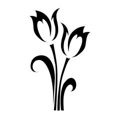 Realistic Orange Tulips Tattoo Real Photo Pictures Images And Tulip Tattoo, Flower Tattoos, Stencil Patterns, Stencil Designs, Ceramic Cafe, Bird Silhouette, Decorate Notebook, Border Design, Pictures Images