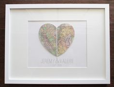 I love unique art and I love a picture collage wall that isn't just pictures. Enter…map art. I've seen map art EVERYWHERE and I think it's a fabulous idea. One of my favorite ways to utilize map art is in hearts. There are a lot of different combinations to use hearts and maps in different...