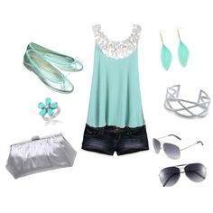 Fun! Summer oufit!  86 THOSE FLATS.