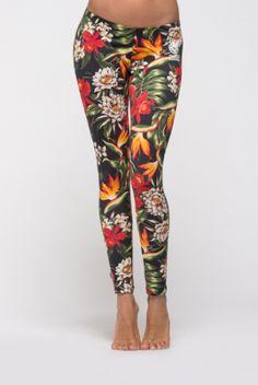 Flowers have the power #leggings