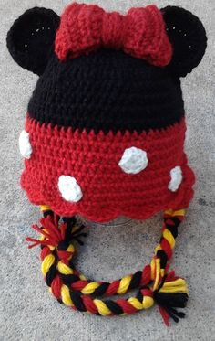 Minnie Earflap Hat; another cute beanie that I want for the skibbs!