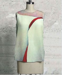 ART to wear friday Wearable Art, Friday, Dresses For Work, Abstract, How To Wear, Collections, Paintings, Products, Fashion
