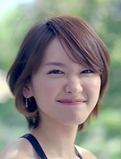 Cute Japanese, Japanese Beauty, Asian Beauty, Japanese Female, Short Hairstyles For Women, Cute Hairstyles, Beautiful Asian Women, Beautiful People, Celebrity Faces