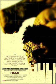 Hulk - 12x18 - Movie Poster -  by Duke Dastardly