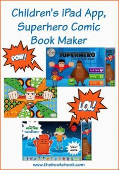 Review: Children's iPad #App, Superhero Comic Book Maker #edtech