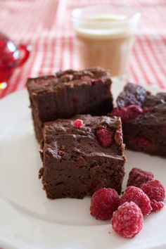 Just eight every day ingredients stand between you and these luscious, luxurious dark chocolate and raspberry brownies. And should you not have any of these items to hand I urge you to abandon your…