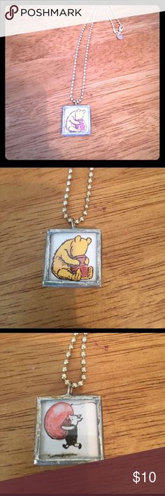 ⭐️⭐️Reversible Winnie the Pooh Necklace ⭐️⭐️ All jewelry marked ⭐️⭐️ buy one get one free! Bundle the items you want and offer the amount of the highest priced item. Jewelry Necklaces