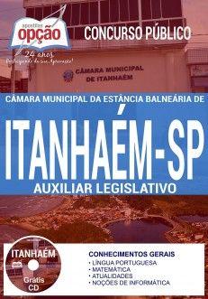 Apostila - AUXILIAR LEGISLATIVO - Concurso Câmara de Itanhaém 2017 Concurso Câmara de Itanhaém 2017   Apostilas Opção