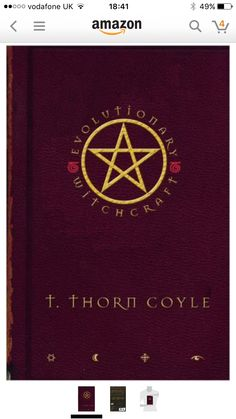 Next book to purchase: Evolutionary Witchcraft by T. Thorn Coyle