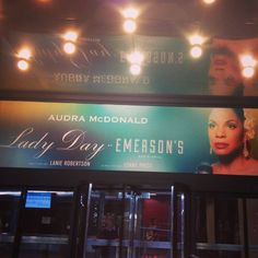 Lady Day at Emerson's Bar and Grill starring Audra McDonald at Circle in the Square Theatre on Broadway (Apr 13, 2014 - Oct 5, 2014)