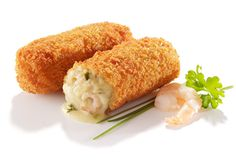 These lovely Dutch croquettes are a crunchy fritter outside with a tasty shrimp and white sauce inside. These are an easy appetiser to make as they can be partly prepared and frozen or refrigerated to finish when required. Easy To Make Appetizers, Appetizer Recipes, Airfryer Recipe Book, Chicken Egg Rolls, Dutch Recipes, Cooking Recipes, Healthy Recipes, Food Tasting, How To Cook Eggs