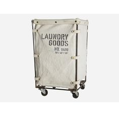 Like this laundry basket. Must try