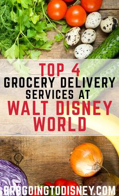 Looking to SAVE MONEY on your next Disney World vacation?  Check out the best grocery delivery services at Disney World!
