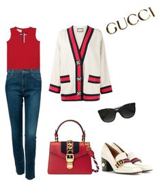 """Gucci"" by mynameineke ❤ liked on Polyvore featuring Gucci"