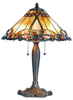 TiffanyHomeDecor.com - Amber and Brown Tiffany Table Lamp - , $189.95 (http://www.tiffanyhomedecor.com/tiffany-18-table-lamp-amber-and-brown/)