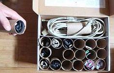trucuri rola e hartie igienica cabluri