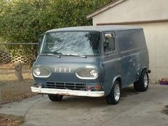 1965 Ford Econoline...my Dad had one of these...he called it slash, I called it the reason my parents divorced!