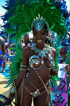 Barbados -carnaval and costums photography Trinidad Carnival, Caribbean Carnival, Rio Carnival, Rihanna Carnival, Carnival Fantasy, Carnival Dancers, Ebony Beauty, Dark Beauty, Black Girls Rock