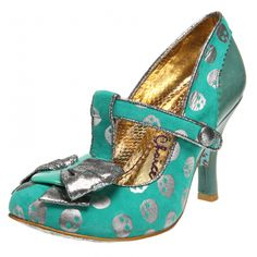 Irregular Choice 'Chilly Dog' in a super cute minty turquoise! I cannot get enough of Irregular Choice shoes - if I had my way they'd be all I wore!