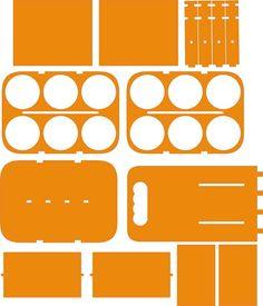 DXF Plans Downloads - Porta Vinho