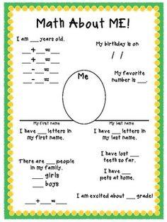 First Grade Buddies: Ten Pin Linky: Math Ideas