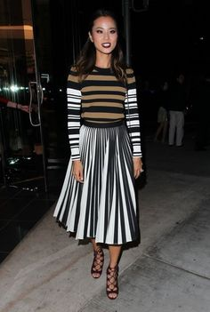Jamie Chung Leaves Sephora in Beverly Hills