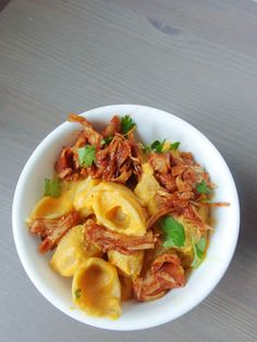 BBQ Jackfruit Sweet Potato Mac and Cheese (Vegan)