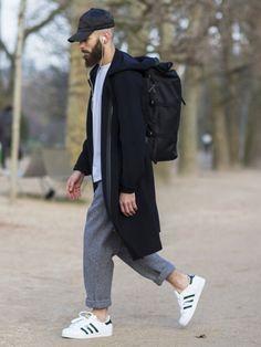 fr # fashion for men # men's style # men's fashion # men's wear # mode homme Look Fashion, Winter Fashion, Mens Fashion, Fashion Outfits, Fashion Killa, Stylish Men, Men Casual, Mens Casual Street Style, Smart Casual