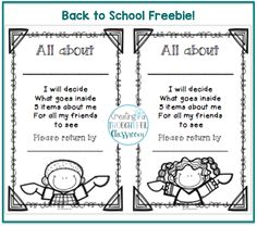 All about Me Bags - Label FREEBIE