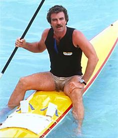 There's just not enough Tom Selleck on this site. Here's enough Tom Selleck for everyone.