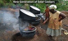 Innovative Solar Grills - The Solution To Intermittent Sun and Able To Cook at 450F For 25 Hours Straight