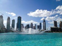 The Dubai Fountain- the world's largest choreographed fountain