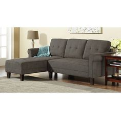 10 Spring Street Ashton Sectional, Steel Grey.... NEED for our updated home