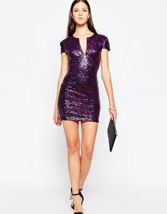 Imagen 4 de Vestido ajustado con lentejuelas Pam de Club L