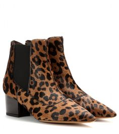 Tabitha Simmons Shadow pony-hair ankle boots on shopstyle.com