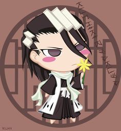 Bleach Chibi Nr. 4 Byakuya by rukichen.deviantart.com on @DeviantArt