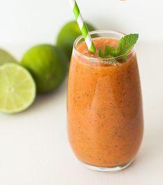 #Licuado de mango y fresas ¡Puro sabor! #Recipes