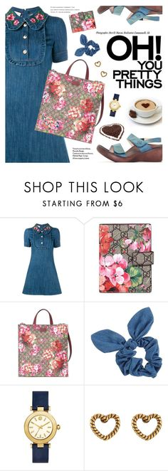 """""""So Cute"""" by regettacanoe ❤ liked on Polyvore featuring Gucci, Dorothy Perkins, Tory Burch, Marc Jacobs, polyvoreeditorial and polyvoreset"""