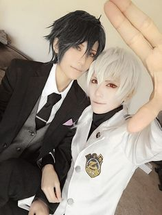 Jumin and Zen :D =^_^= !!!