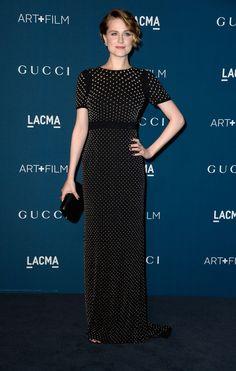 Evan Rachel Wood LACMA 2013 Art + Film Gala