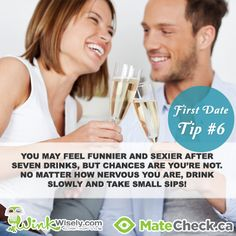 First Date Tips Relationships Love http://winkwisely.com/2013/07/05/8-first-date-tips/