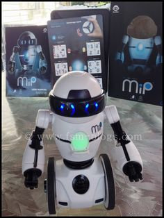 Meet MiP an Awesome Balancing Robot by WowWee #MiP