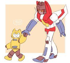 Bumblebee and Starscrean