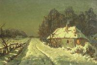 Wiktor Korecki: Chata w śniegu