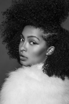 Yara Shahidi | Paper Magazine | Photographer: Vijat Mohindra || Curly hair. natural hair. curls. curly fro. beauty. style. fashion.