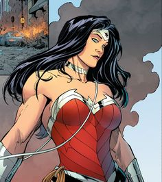 Wonder Woman by Greg Capullo. (Endgame) I love Greg Capullo's art. And while I really really want the actress to sell the ever loving crap out of Wonder Woman, this is how I think the Goddess of War should look.