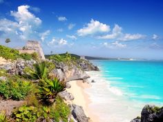 Tulum, Mexico - A beautiful place! The water is amazing loved swimming in it, and the ruins...wow!
